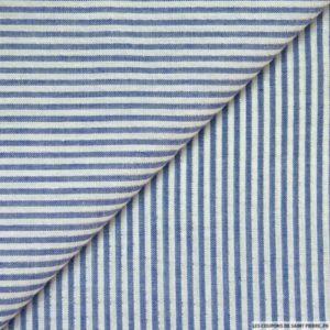lescouponsdesaintpierre-seersucker-coton-fines-rayures-lurex-marine