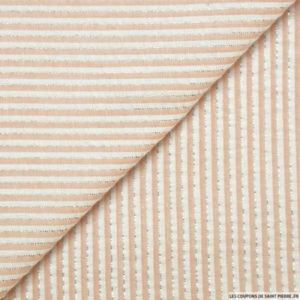 lescouponsdesaintpierre-seersucker-coton-fines-rayures-lurex-rose-poudre